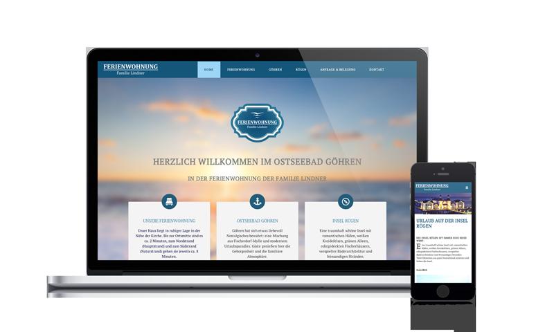 Webdesign Lindner-Fewo
