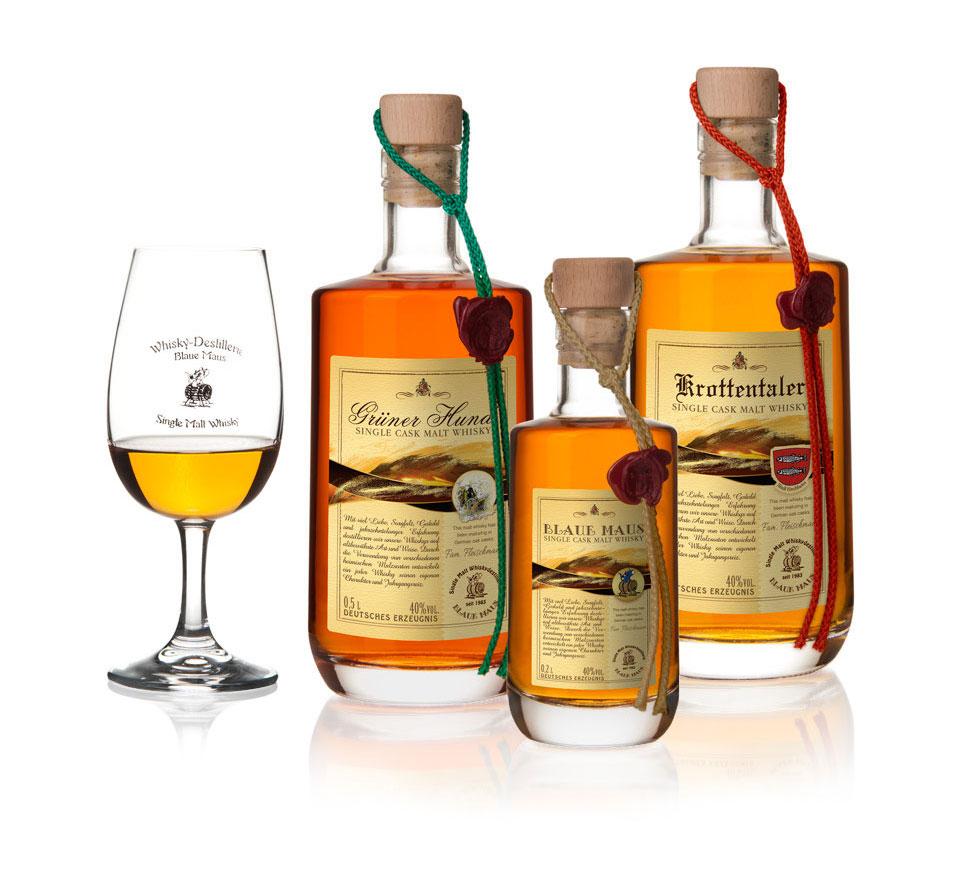 Whiskyflasche - Produktfotografie in Erfurt