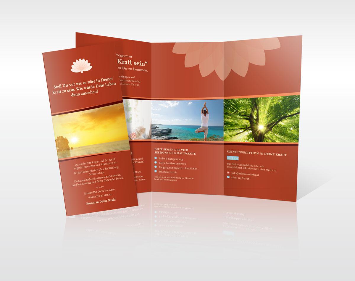 Flyer Design. Grafikstudio in Erfurt/Thüringen. Werbeagentur in Erfurt