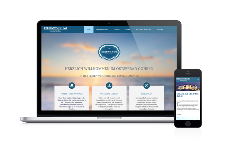 Webdesign Lindner-Fewo