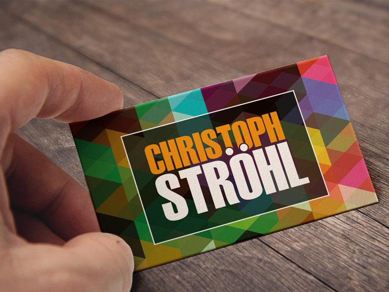 Visitenkarten für Christoph Ströhl