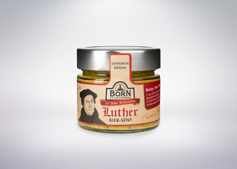 Born Senf / LutherBier-Senf