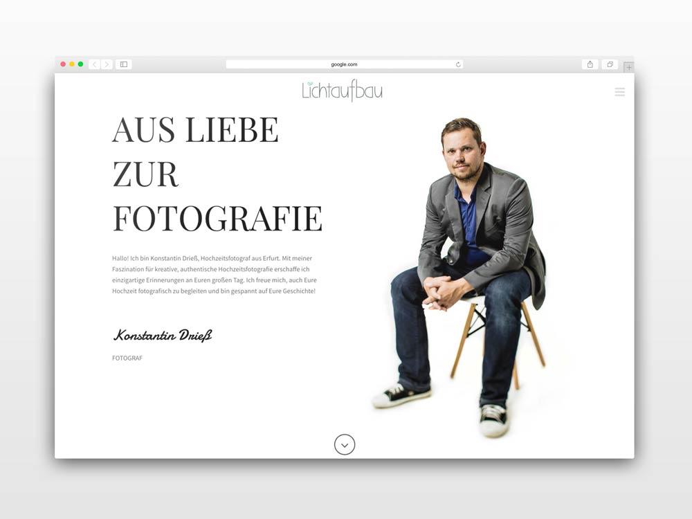 Screendesigner Thüringen/Gera - Webdesign aus Gera